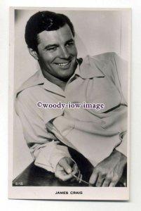 b4523 - Film Actor - James Craig, No.215 - postcard