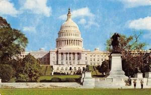 USA The United States Capitol Statues Monument Washington D.C.
