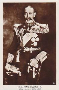 RP, H. M. King George Was King of the United Kingdom & The British Dominions,...