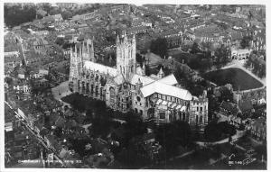 Canterbury Cathedral From South East Aerial view Cattedrale