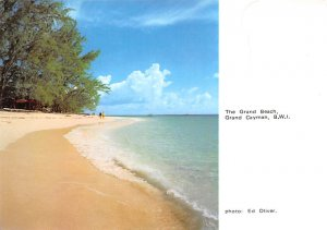 Grand Cayman Islands Post card Old Vintage Antique Postcard The Grand Beach. ...