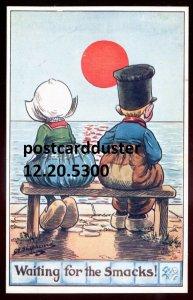 5300 - Artist- SHEPHARD Postcard 1915 Humor Little Hollanders Dutch Kids by Tuck