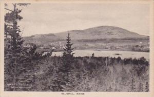 Bluehill Maine Albertype