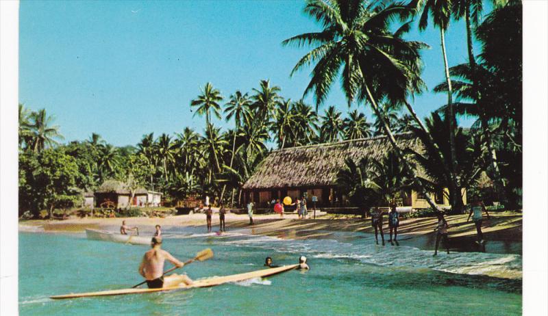 Boat Korolevu Beach , FIJI , 40-60s