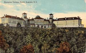 North Augusta South Carolina Hampton Terrace Antique Postcard K104614