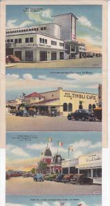 Folder Postcard , JUAREZ , Mexico , PU-1954