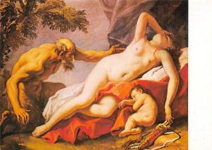 Sebastiano Ricci, Venusz es a Szatir, Schlafende Venus mit Satyr