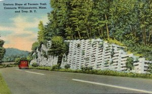 New York Troy Eastern Slope Of Taconic Trail 1951