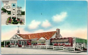 Pennsylvania Postcard THE COUNTRY HOUSE Restaurant Route 11 Roadside Linen 1940s