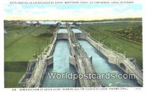 Gatun Locks Panama Canal Panama Unused