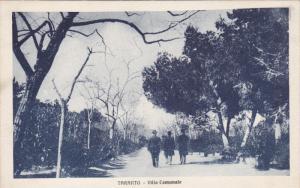 TARANTO (Puglia), Italy, 1910-1920s; Villa Comunale