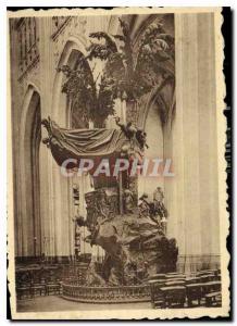 Modern Postcard Louvain St. Peter's Church Chair of Truth