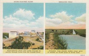 Rio Grande River , Texas , 1910s ; Hydro-Electric Plant