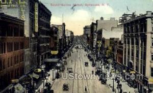 S. Salina St. Syracuse NY 1915