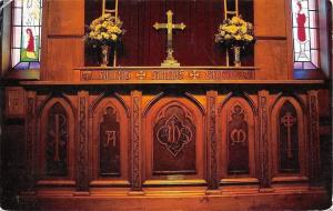 FairbanksSt Mathews Episcopal~Handcarved Alter~1992 Fraser Attended This Church
