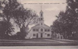 New Hampshire Lebanon First Congregational Church