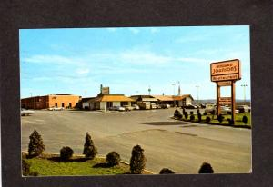 PA Howard Johnson's Johnsons Hotel Motel Restaurant Mercer Pennsylvania Postcard