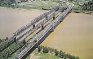 Bridges over Missippippi River, 40-60s