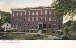 ALBANY, New York, PU-1908; Orphan Asylum, Front of Main Building