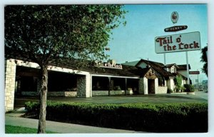 LOS ANGELES, CA ~ McHenry's TAIL O' THE COCK Restaurant ~ La Cienega Postcard