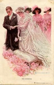 The Wedding    Artist: Harrison Fisher  (R&N #188)