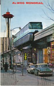 Alweg Monorail - Seattle 1967