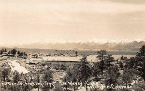 LPS07 Westcliffe Colorado DeWeese Lake Favorite Fishing Spot Postcard RPPC