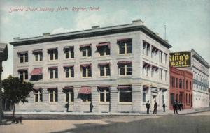 REGINA , Saskatchewan , Canada , 1900-10s ; Scarth Street , North