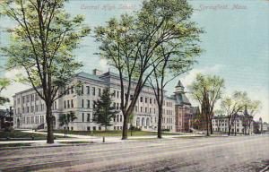 Massachusetts Springfield Central High School 1909