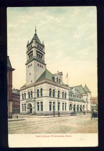 Worcester, Massachusetts/MA/Mass Postcard, Post Office #3