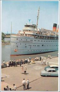 SS South America, Lackawanna Terminal