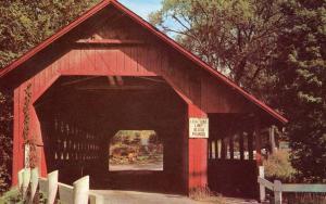 VT - Brattleboro. Creamery Covered  Bridge