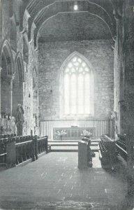 Postcard UK Scotland Iona church abbey