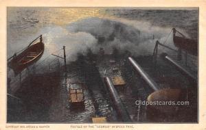 Military Battleship Postcard, Old Vintage Antique Military Ship Post Card Foc...