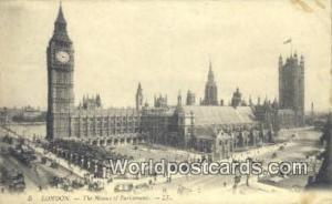 England, United Kingdon of Great Britain London Houses of Parliament