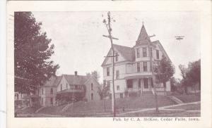 CEDAR FALLS, Iowa, PU-1909; Typical House