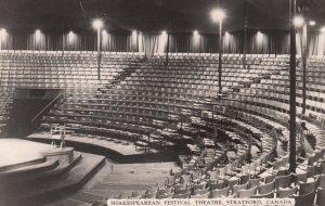 RP: Stratford , Ontario , Canada , 1950s ; Shakespearean Festival Theatre