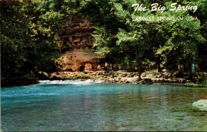 Missouri The Big Spring Near Van Buren