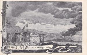 24o Reggto Artiglieria da Campagna , Italy , 1890s
