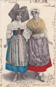 Elsasserin und Lothringerin , PU-1905