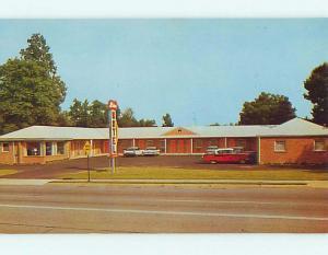 Unused Pre-1980 OLD CARS & MILAN MOTEL Claymont Delaware DE u0824@