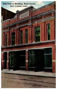 Connecticut  New London , Odd Fellows Building , Bank Street