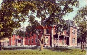 ST. VINCENT'S HOSPITAL SIOUX CITY, IA 1913