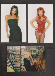 SPICE GIRLS - 10 Cards With 1 Or 2 Girls - Unused - Writing On Backs