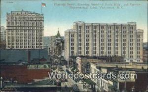 British Columbia, Canada Hastings St, Standard Bank Building Vancouver  Hasti...