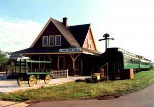 Canada - Nova Scotia, Cape Breton. Sydney & Louisburg Rwy Station