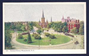 Thomas Circle Washington DC unused c1905