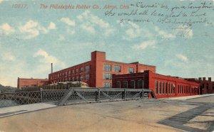 LP89  Akron Ohio   Philadelphia Rubber Co.                     Postcard