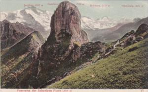 Switzerland Panorama der Schynige Platte