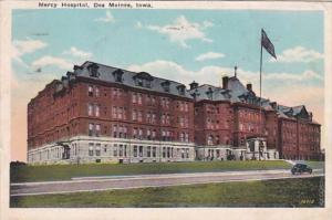 Iowa Des Moines Mercy Hospital 1929